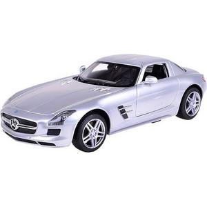 Машинка радиоуправляемая Rastar 1:14 Mercedes-Benz SLS AMG, цвет серебряный 40MHZ (47600S)