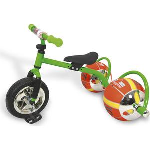 Велосипед трехколёсный Bradex с колесами в виде мячей БАСКЕТБАЙК зелёный