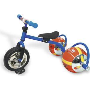 Фото - Велосипед трехколёсный Bradex с колесами в виде мячей БАСКЕТБАЙК синий велосипед с колесами в виде мячей баскетбайк зелёный walking bike on ball two