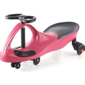 Каталка Bradex Машинка детская с полиуретановыми колесами розовая