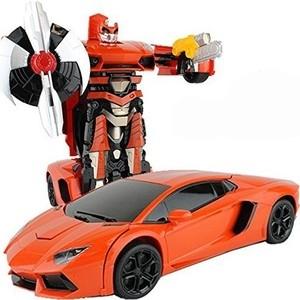 Радиоуправляемый трансформер MZ Model Lamborghini Aventodor Orange масштаб 1:14 - 2321P