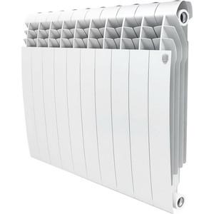 Радиатор отопления ROYAL Thermo алюминиевый Biliner Alum 500 10 секций радиатор алюминиевый alecord 10 секций 500 70