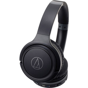 Наушники Audio-Technica ATH-S200BT black наушники audio technica ath s200bt grey blue