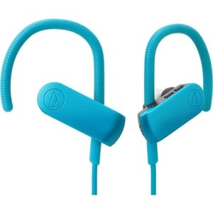 Наушники Audio-Technica ATH-SPORT50BT blue hi fi наушники audio technica ath sr9