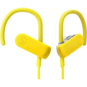 Наушники Audio-Technica ATH-SPORT50BT yellow наушники audio technica ath sport1 yellow