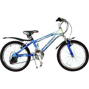 Велосипед 2-х колесный Funny Scoo MS-A2018 Alfa 18ск. синий велосипед трехколесный funny scoo volt air ms 0576 фиолетовый