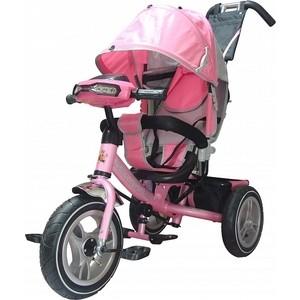 Велосипед трехколесный Funny Scoo MS-0536 IC розовый
