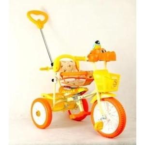 Велосипед трехколесный Funny Scoo MS-0745/1 оранжевый