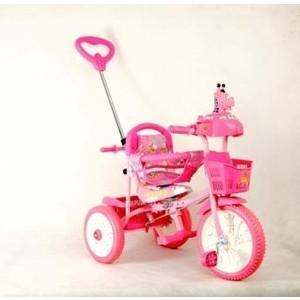 Велосипед трехколесный Funny Scoo MS-0745/1 розовый