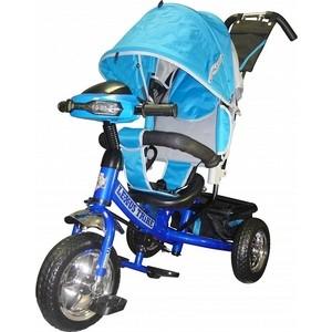 Велосипед трехколесный Funny Scoo Racer Trike (MS-0630 IC) синий