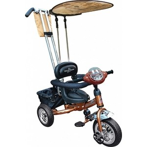 Велосипед трехколесный Funny Scoo Volt (MS-0575 IC) бронза