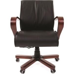 Офисноекресло Chairman 444 WD кожа черная офисное кресло chairman 436 россия кожа черная