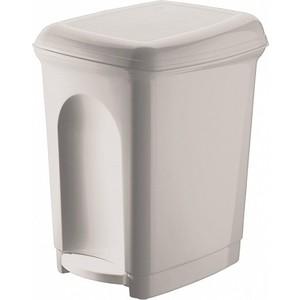 Контейнер для мусора Бытпласт педальный 7л, 235х195х280