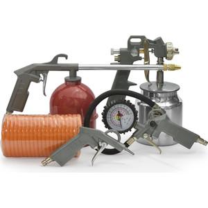 Набор пневмоинструмента Парма 5 предметов НПИ 005-2 набор пневмоинструмента santool 110401 005