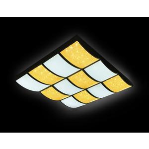Управляемый светодиодный светильник Ambrella light FS1520 WH/SD 288W D810*720