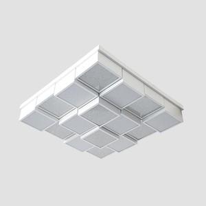 Управляемый светодиодный светильник Ambrella light FS1550 WH/SD 192W D715*715 elvan точечный светильник elvan sd 8016 g wh