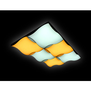 Управляемый светодиодный светильник Ambrella light FP2356 WH 192W D720*480