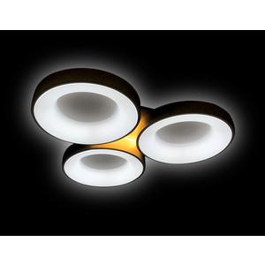 Управляемый светодиодный светильник Ambrella light FG2071 WH 144W+10W D750*700