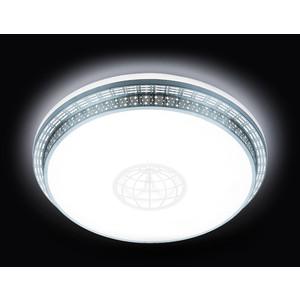 Управляемый светодиодный светильник Ambrella light F128 WH SL 72W D500