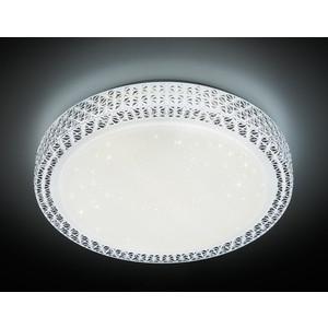Управляемый светодиодный светильник Ambrella light F85 WH 48W D400