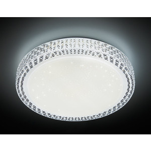 Управляемый светодиодный светильник Ambrella light F86 WH 72W D500 ambrella потолочный светильник ambrella orbital dance f789 gd 72w d500