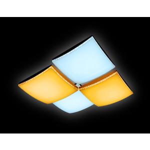 Управляемый светодиодный светильник Ambrella light FP2324 WH 128W D480*480