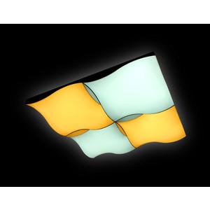 Управляемый светодиодный светильник Ambrella light FP2354 WH 128W D480*480 управляемый светодиодный светильник ambrella light fs1232 sd 48w d480