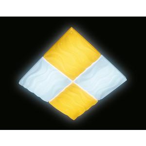 Управляемый светодиодный светильник Ambrella light FP2381 WH 128W D500*500
