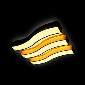 цена на Управляемый светодиодный светильник Ambrella light FP2423 WH 90W+48W D690*500