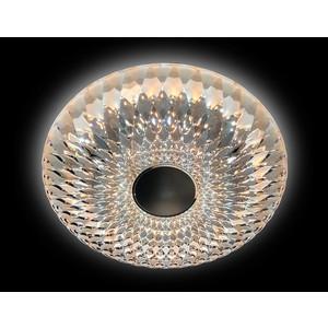 Управляемый светодиодный светильник Ambrella light FS1230 CL 48W D480 ambrella встраиваемый светильник ambrella led s701 cl ch ww
