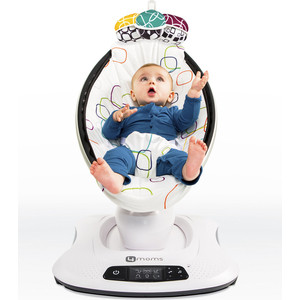цена на Кресло-качалка 4moms МамаРу 4.0 мульти плюш