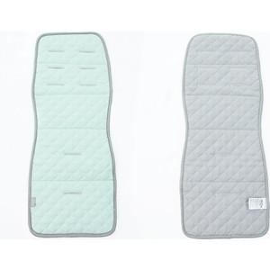 Матрас в коляску Ceba Baby CARO mint/grey W-814-079-157