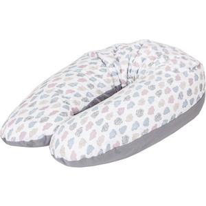 Подушка для кормления Ceba Baby Physio Multi Clouds трикотаж W-741-700-528 подушка для кормления ceba baby physio multi велюр stars blue