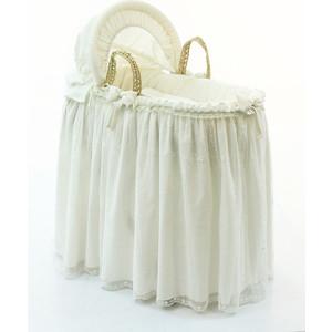 Корзина Funnababy Premium Baby плетеная с капюшоном крем балдахин funnababy my bear
