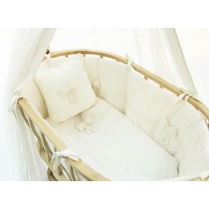 колыбели Набор для кроватки Funnababy Premium Baby для колыбели Berlin крем без матрасика