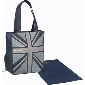 Сумка для мамы Maclaren Magazine Tote Denim Flag SDN45012