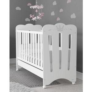 Кроватка Micuna Meghan 120*60 white с матрацем CH-620