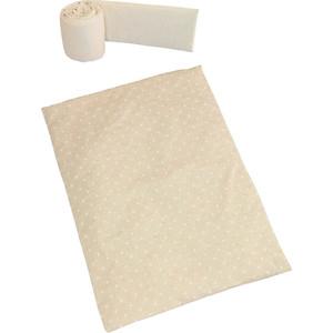 колыбели Набор для кроватки Micuna Galaxy покрывало+бортик для колыбели ТХ-1823 galaxy beige