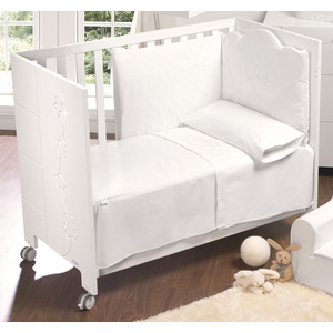 Набор для кроватки Micuna Juliette покрывало+борт 140*70 ТХ-822 цена