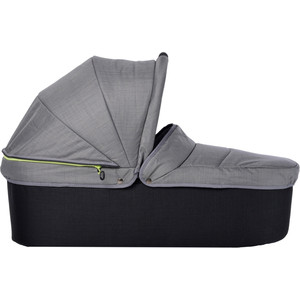 Люлька для коляски TFK QuickfiX Twin Tap DuoX Carrycot Quite Shade T-45-315 люлька egg carrycot quantum grey