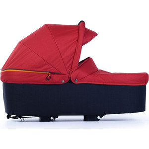 Люлька для коляски TFK QuickfiX Twin Tap DuoX Carrycot Tango Red T-45-345 люлька трансформер для коляски tfk twin duox tap shoe