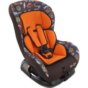 Автокресло BamBola 0-18 кг bambino путешествие оранжево/коричневый kres2338
