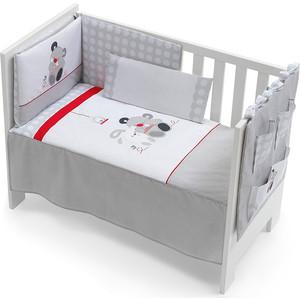 Комплект в кроватку INTER BABY 3 пред casita gris, серый, 60х120 см 91126-r-31