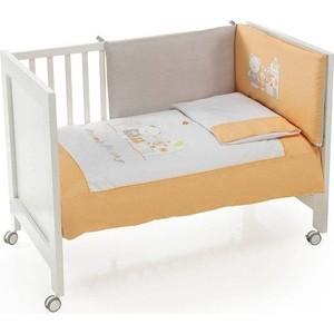 Комплект в кроватку INTER BABY 3 пред conejo espiral beige бежевый 60х120 см 91076-r-05 цена