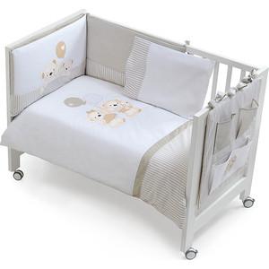 Комплект в кроватку INTER BABY 3 пред oso globo beig, бежевый, 60х120 см 91176-r-05