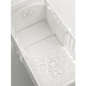 цены на Комплект в кроватку Mibb 3 пред, lumiere b/argento серебряный te465tb  в интернет-магазинах