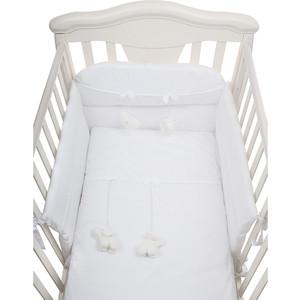 Комплект в кроватку PICCI miro 3 пред white, белый d1236-02 цена