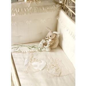 Комплект в кроватку PICCI 3 пред alina кремовый i1585-09 комплект в кроватку mibb 3 пред lumiere b argento серебряный te465tb