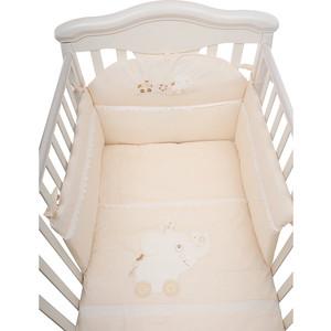 Комплект в кроватку PICCI 3 пред flipper с вышивкой i1403-00