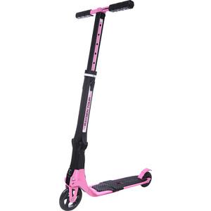 Самокат 2-х колесный RAYSEN складной tour, розовый pink + сумка переноска ck-100p